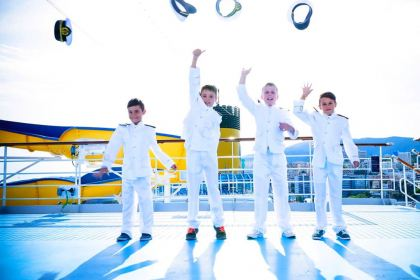 Kids as captains on Costa Cruises