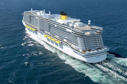 LNG powered Costa Cruises ship