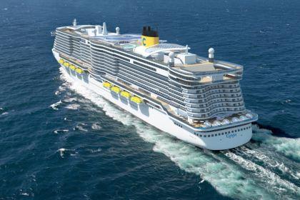 LNG powered Costa Cruises ship