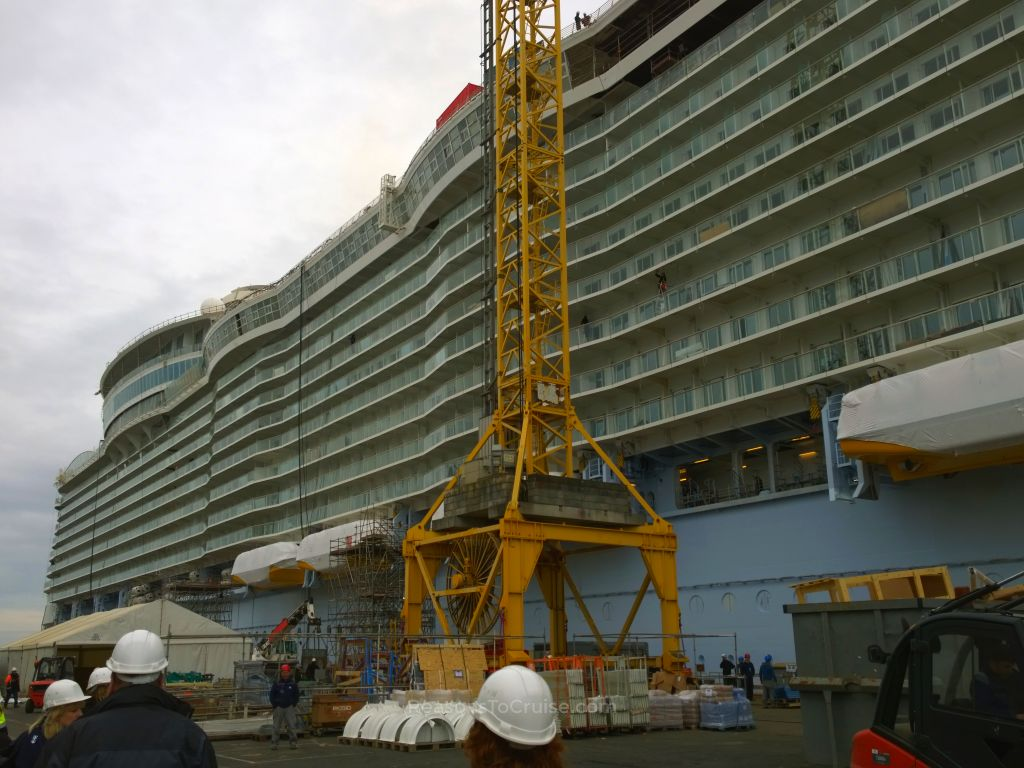 My first look at Harmony of the Seas
