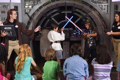 Star Wars Millennium Falcon play area