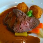 Chateaubriand of Beef Tenderloin on Caribbean Princess