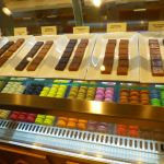 Chocolate truffles in The Bake Shop on Norwegian Escape
