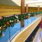 Garlands on Carnival Breeze