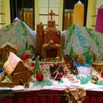 Gingerbread house on Carnival Breeze