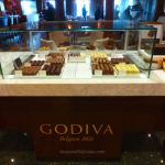Godiva counter on Queen Mary 2