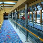 Travelator and walkway to Skywalkers Nightclub