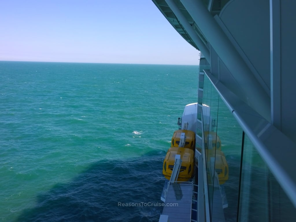 Anthem of the seas balcony cabin 12652 review reasons for Balcony view on cruise
