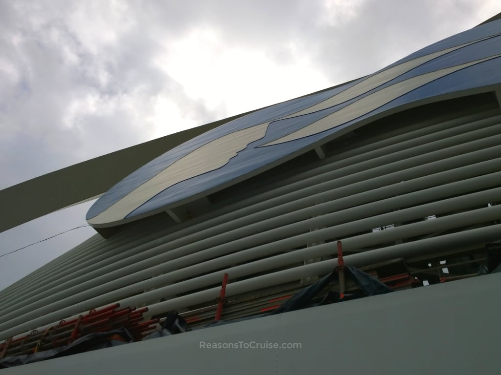 Caribbean Princess funnel