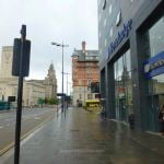 Entrance to Travelodge Liverpool Central The Strand
