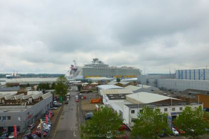 Harmony of the Seas in Southampton