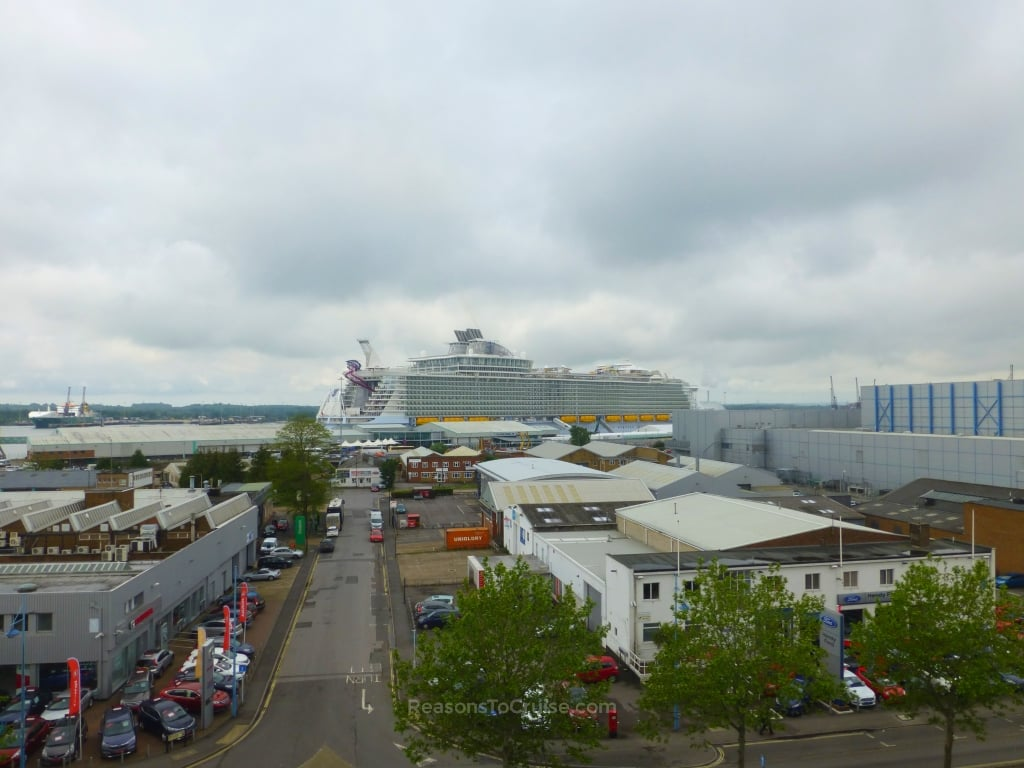 Harmony of the Seas in Southampton