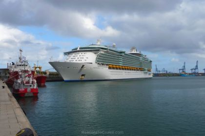 Independence of the Seas in Gran Canaria