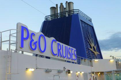 P&O Cruises funnel