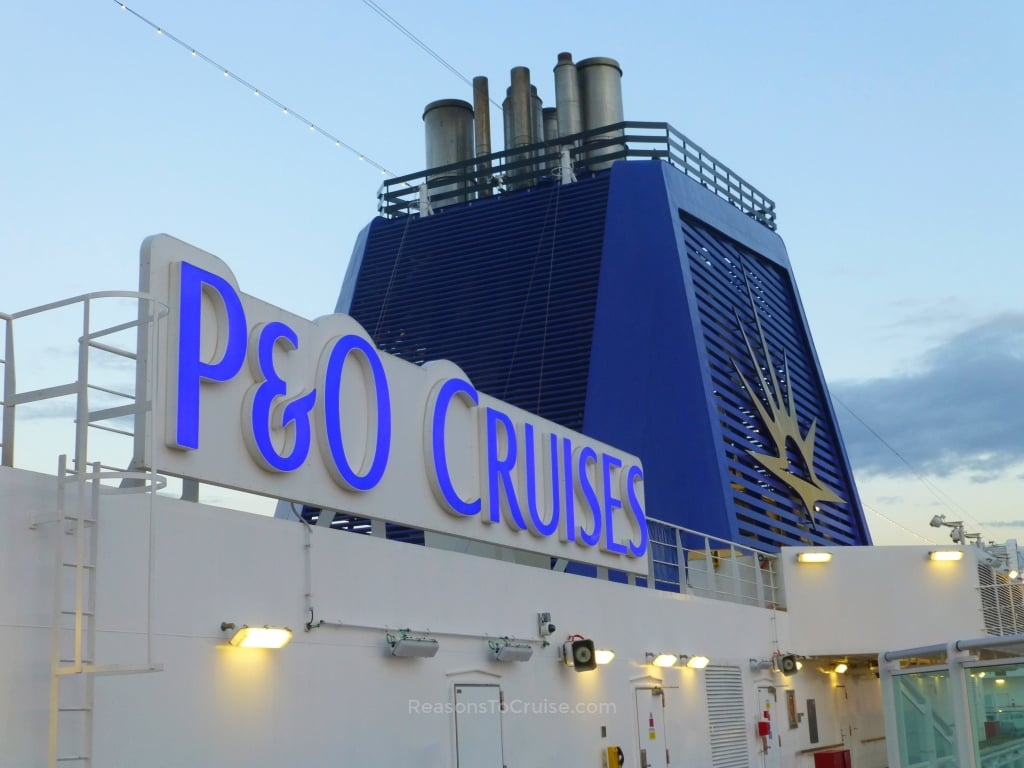 P&O Cruises funnel