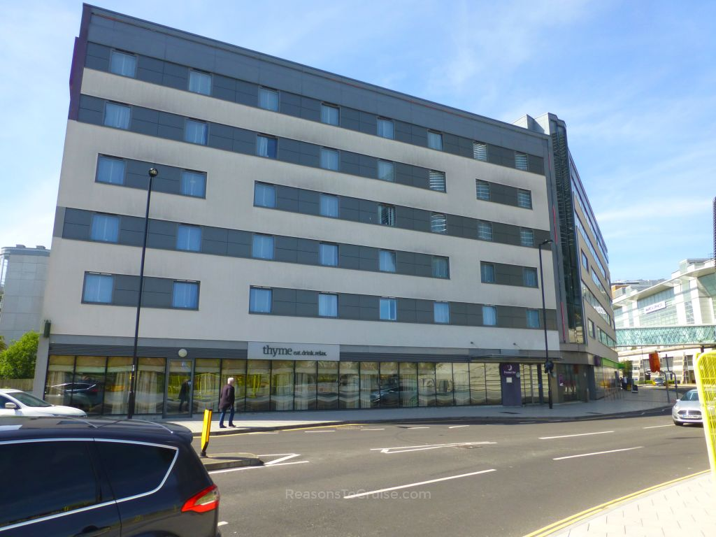Premier Inn Southampton West Quay and the Thyme restaurant