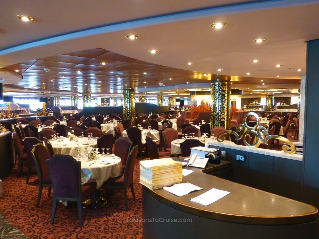 Restaurant on MSC Preziosa