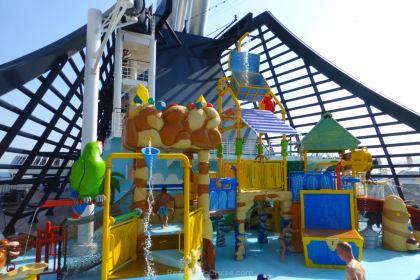 Splash Park on MSC Preziosa