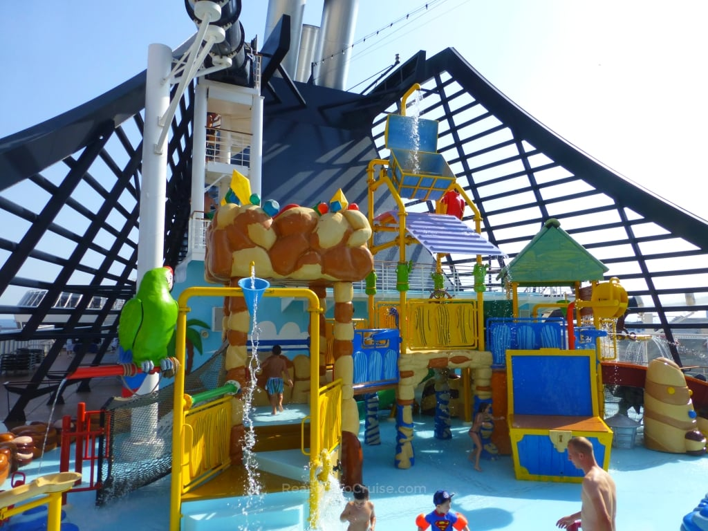Splash Park on MSC Preziosa