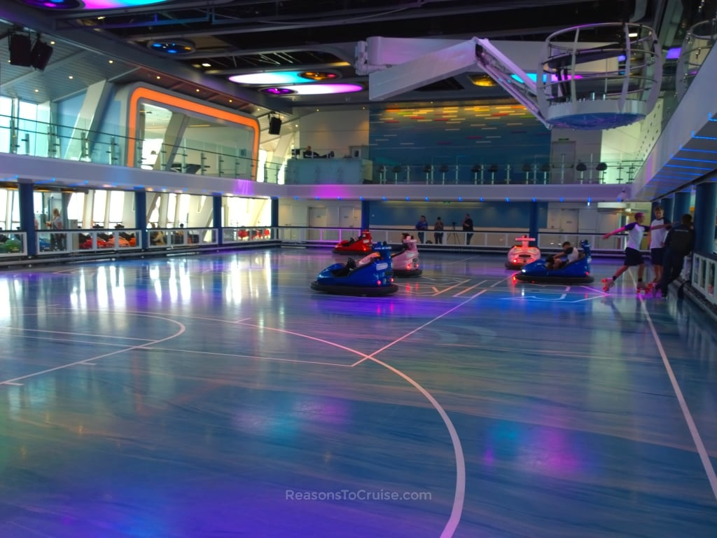 Dodgems at Seaplex on Anthem of the Seas