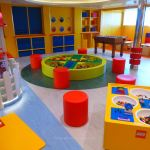 LEGO play room for children on MSC Meraviglia