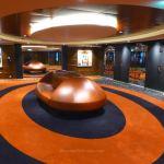 Lift lobby on MSC Meraviglia