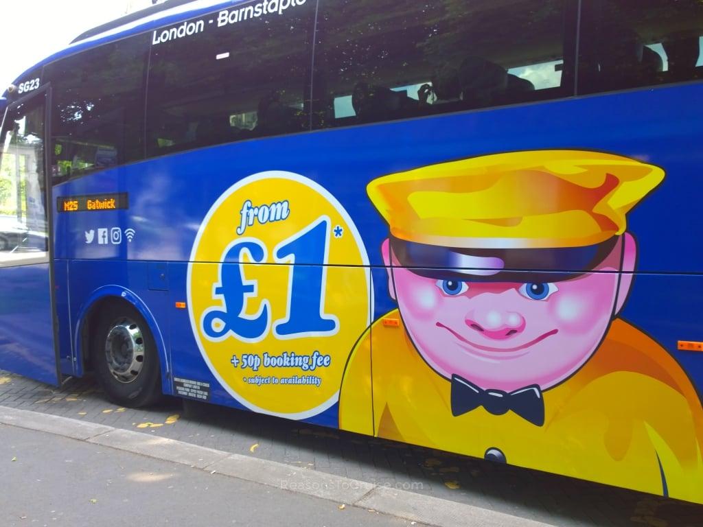 Megabus Heathrow / Gatwick airport service