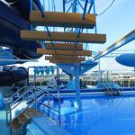 MSC Meraviglia's polar water splash park