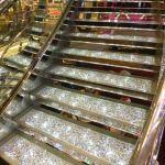 MSC Meraviglia Swarovski crystal staircase