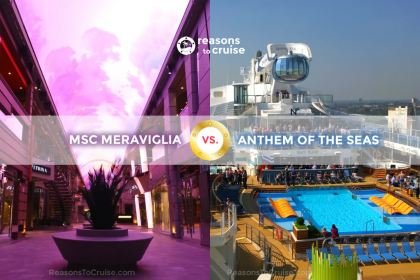MSC Meraviglia vs. Anthem of the Seas