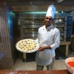 Fresh handmade pizza on MSC Meraviglia