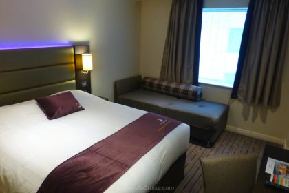 Room 417 at Premier Inn London Heathrow Terminal 4