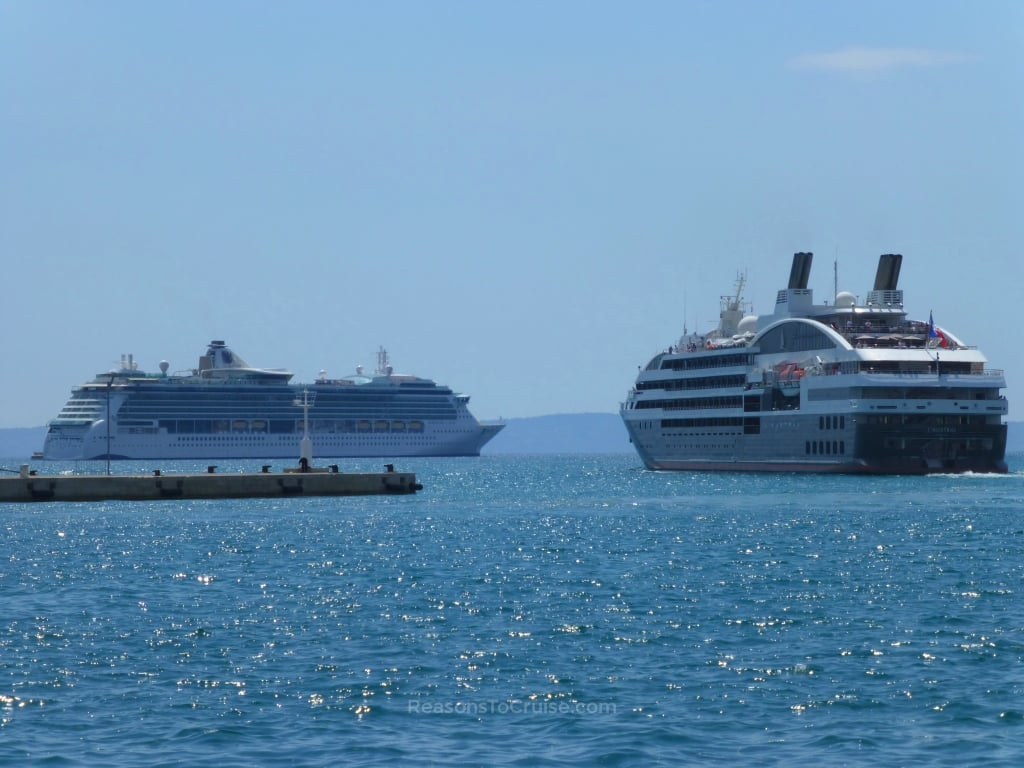 Serenade of the Seas and Ponant L'Austral