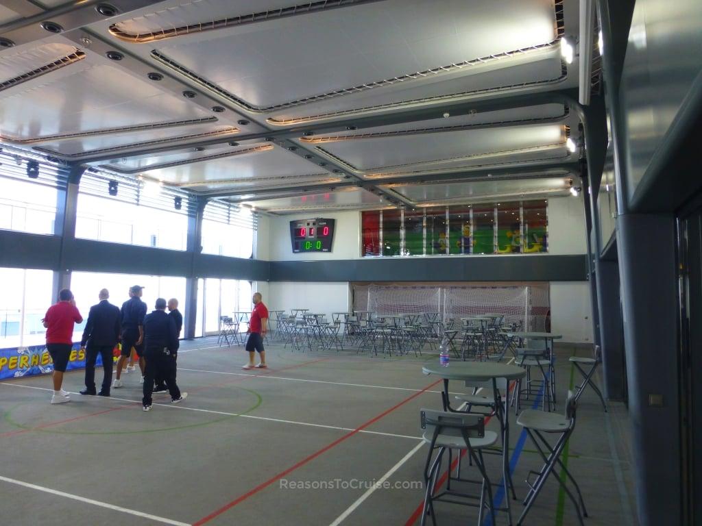 Sportplex on MSC Meraviglia