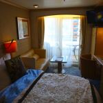 Deluxe Stateroom with Veranda on Crystal Symphony