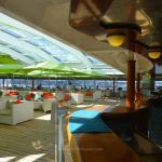 Retractable Roof at Trident Bar And Grill on Crystal Symphony