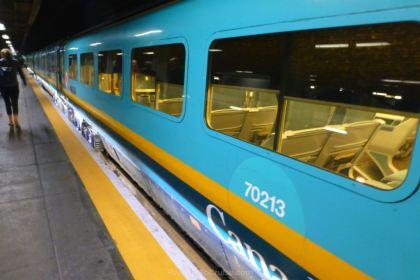 VIA Rail Canada Service From Montréal To Québec