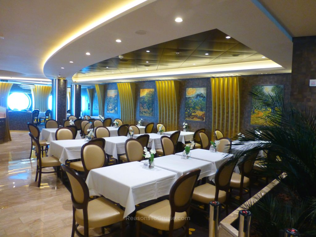 Dining room on MSC Meraviglia