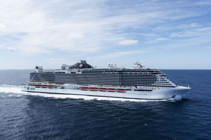 MSC Seaside launch