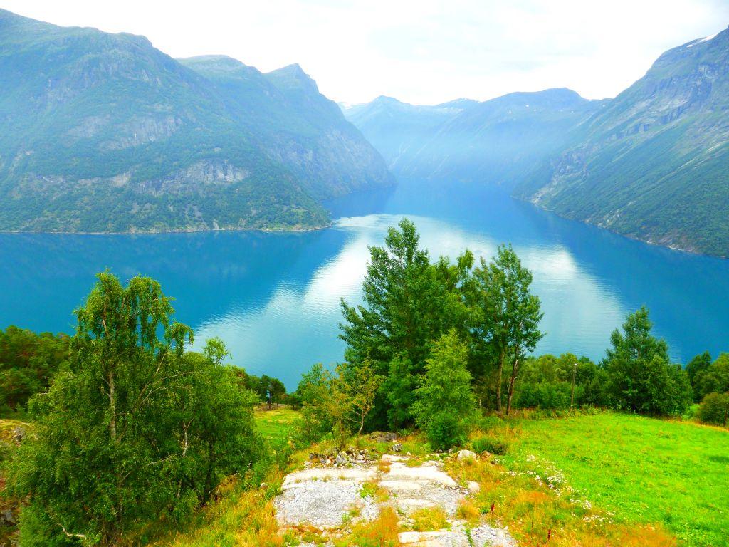 Fjord Near Bergen