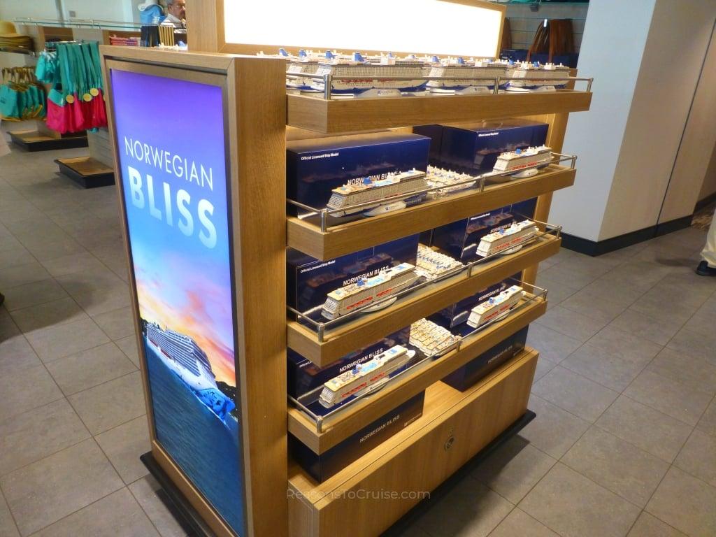 Shops on Norwegian Bliss