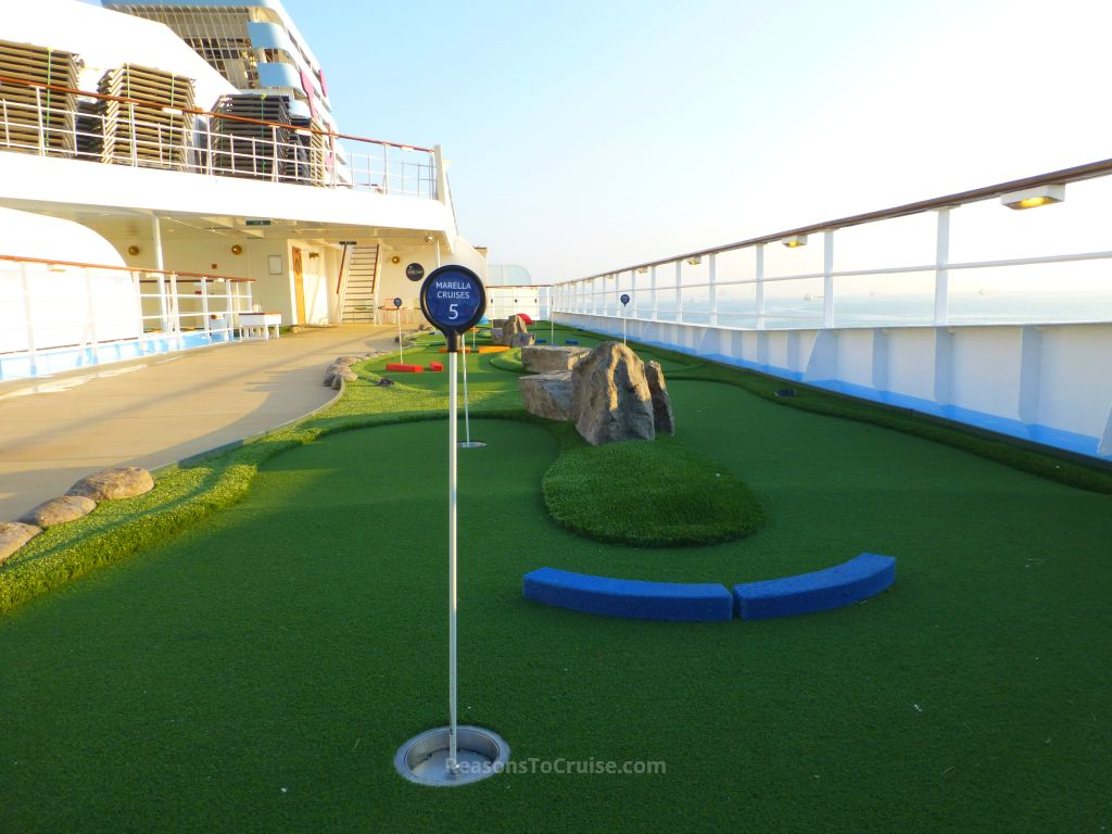 Mini golf on Marella Explorer