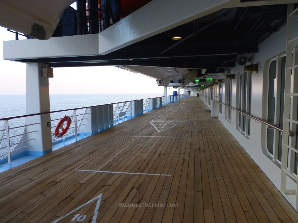 Promenade deck on Marella Explorer