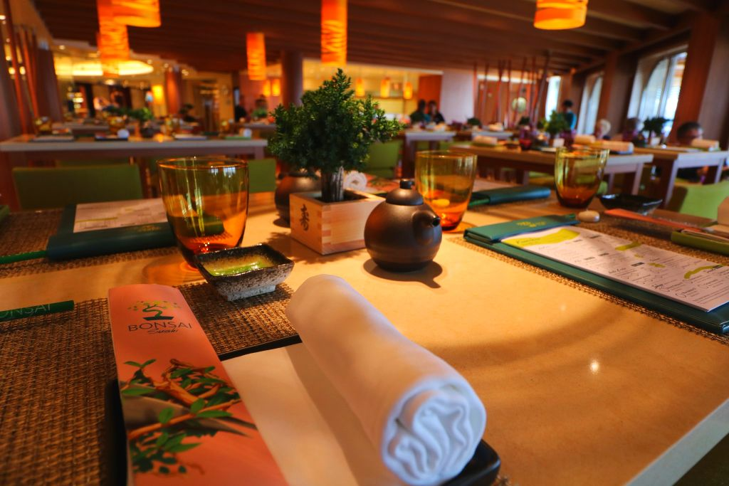 Bonsai Sushi on Carnival Horizon