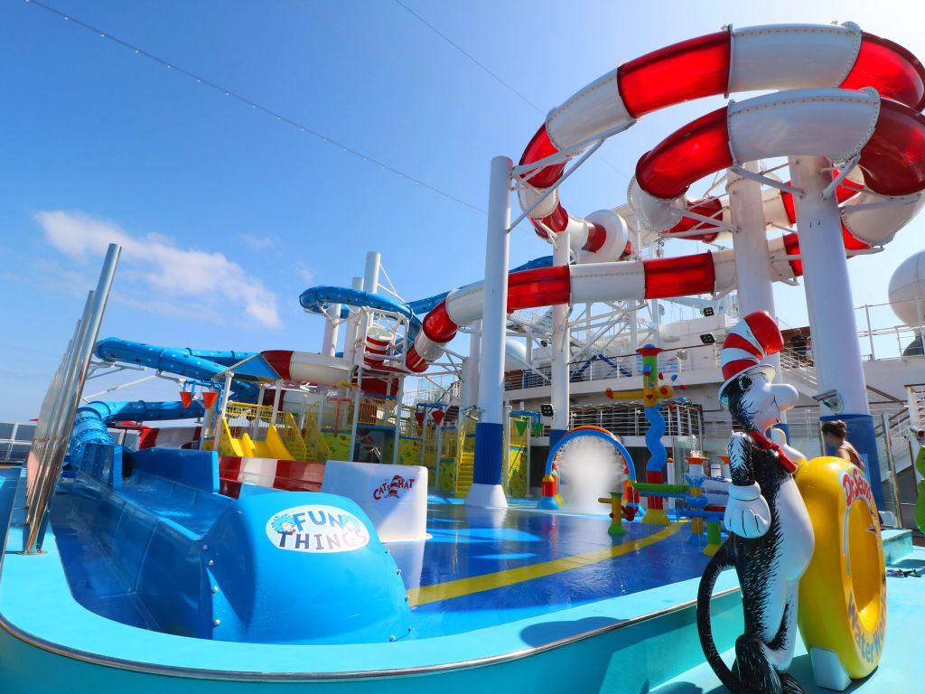 Dr Seuss WaterWorks on Carnival Horizon