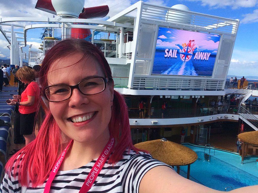 Sanna Vegan Cruiser on Carnival Horizon